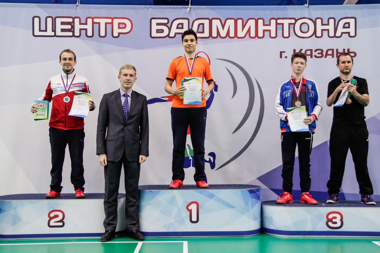 В Казани определены победители Кубка России по бадминтону спорта лиц с ПОДА