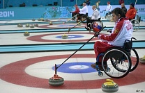 The Russian National Curling Team was won 7- th  round over the Swedish National Paralympic Curling Team