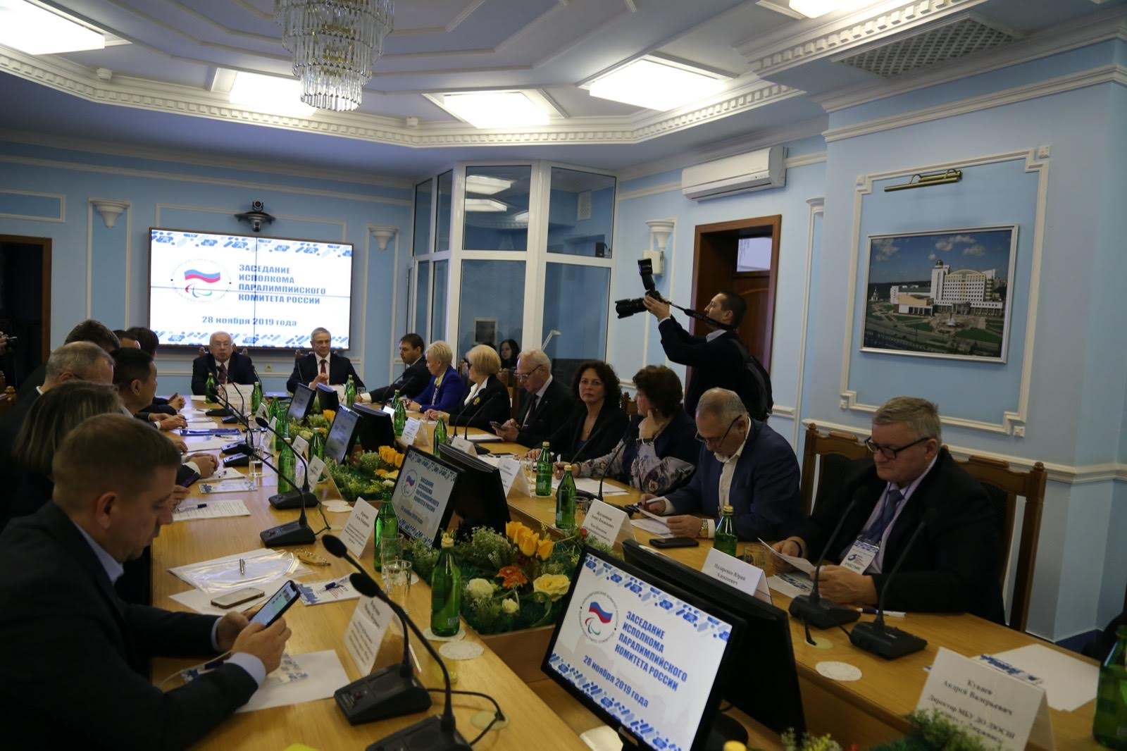 В.П. Лукин в г. Белгороде провел заседание Исполкома ПКР