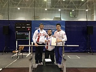 #trainingtogether with repeated prize winner of the Russian championships and international competitions in Para Powerlifting among PI Athletes Yuriy Egorchenkov