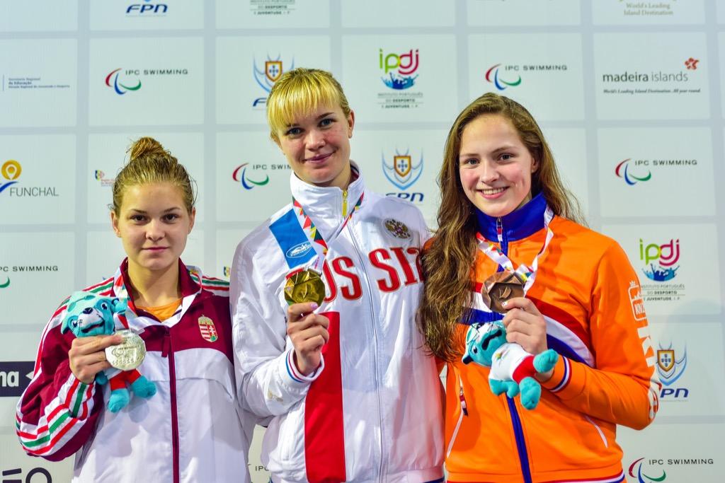Российские спортсмены завоевали 21 золотую медаль после пяти дней чемпионата Европы по плаванию спорта лиц с ПОДА, нарушением зрения и ИН в Португалии