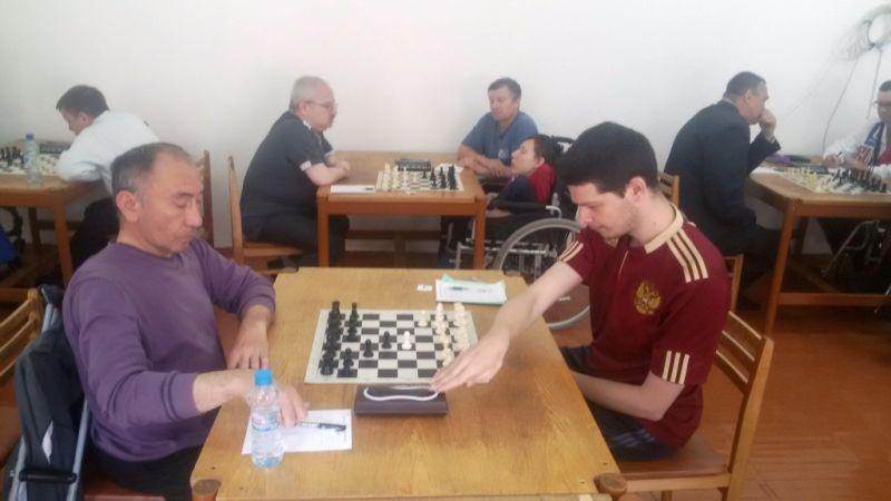 Представители 12 регионов страны ведут борьбу за награды первенства России по шахматам и шашкам спорта лиц с ПОДА