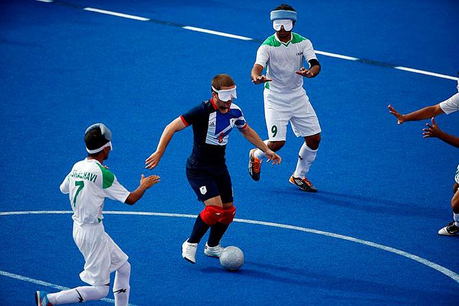 В Московской области проходит Кубок России по мини-футболу (B1) спорта слепых