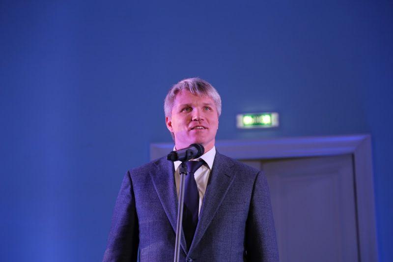 Министр спорта РФ П.А. Колобков поздравил с 60-летним Юбилеем А.М. Барамидзе