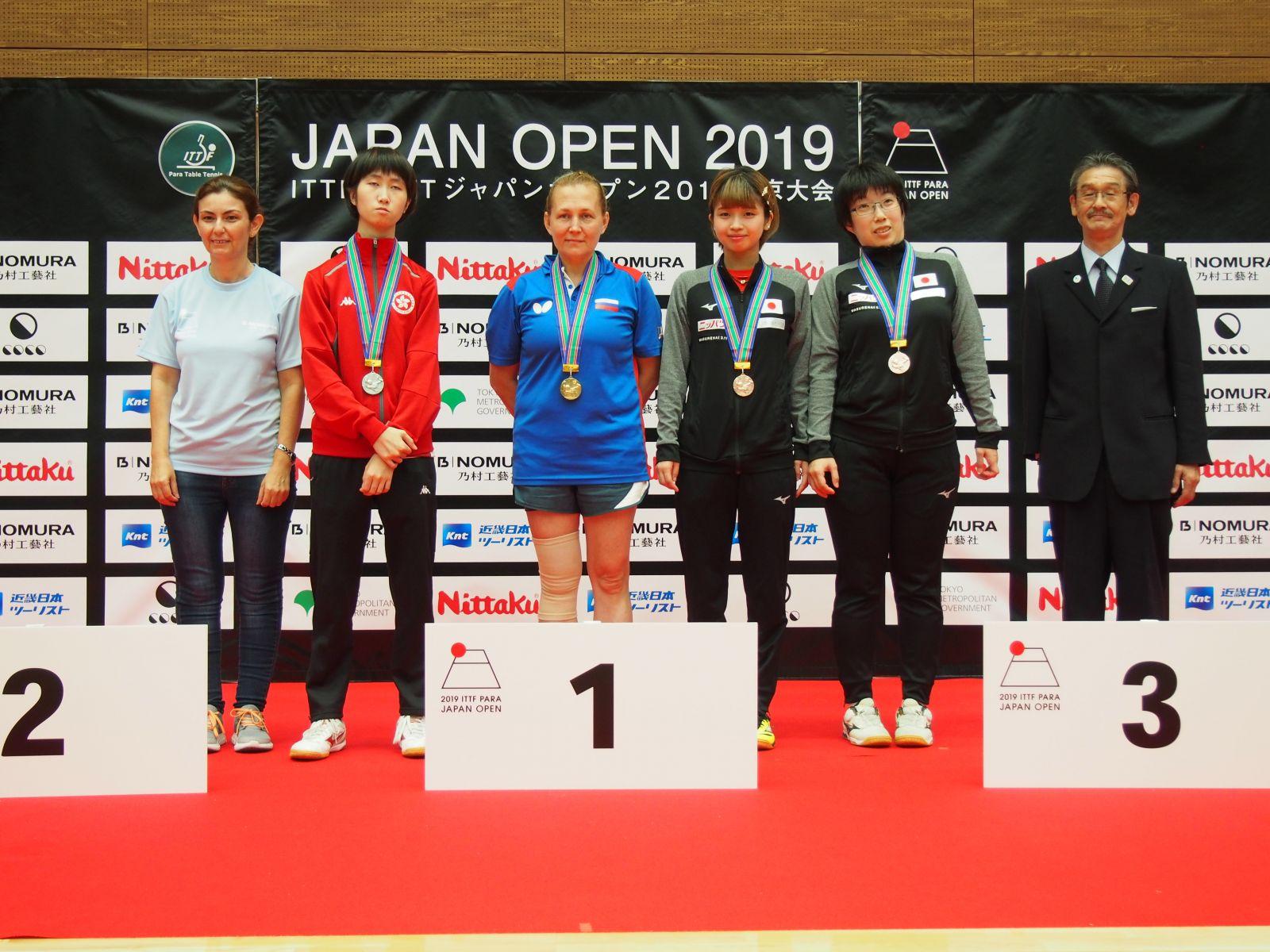 3 золотые, 1 серебряную и 2 бронзовые медали завоевала сборная команда России по настольному теннису спорта лиц с ПОДА и ИН на международных соревнованиях в Японии