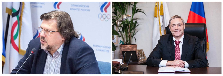 В Олимпийском комитете России прошла рабочая встреча П.А. Рожкова с президентом Федерации гребного спорта России В.Е. Бутом