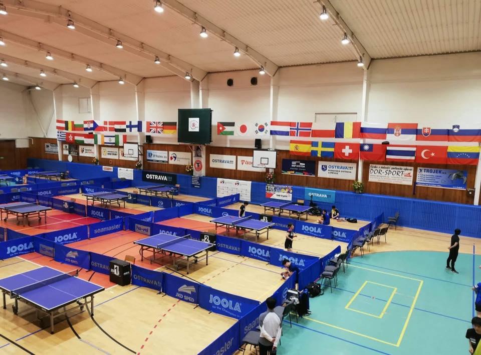Сборная команда России по настольному теннису спорта лиц с ПОДА и ИН примет участие в 14-ом традиционном международном турнире Czech Open