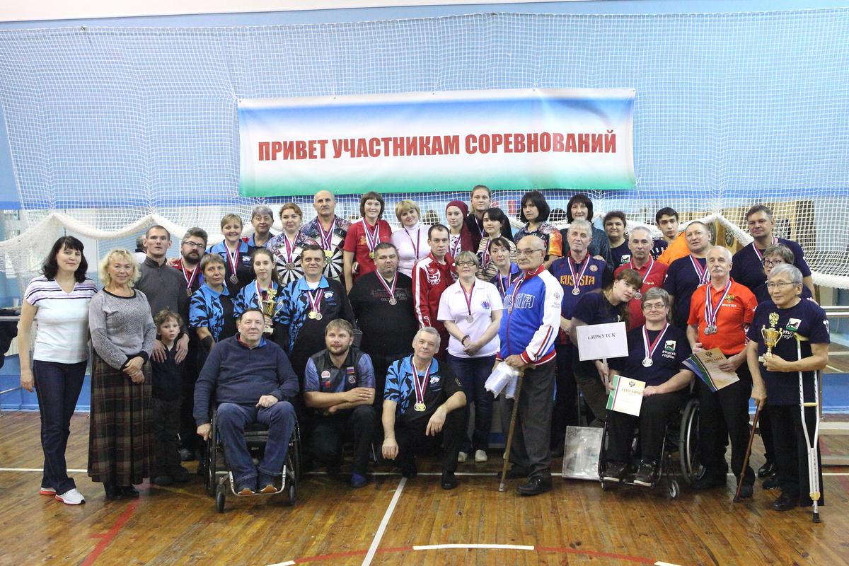 В Свердловской области завершились чемпионат и первенство России по дартсу среди спортсменов с ПОДА