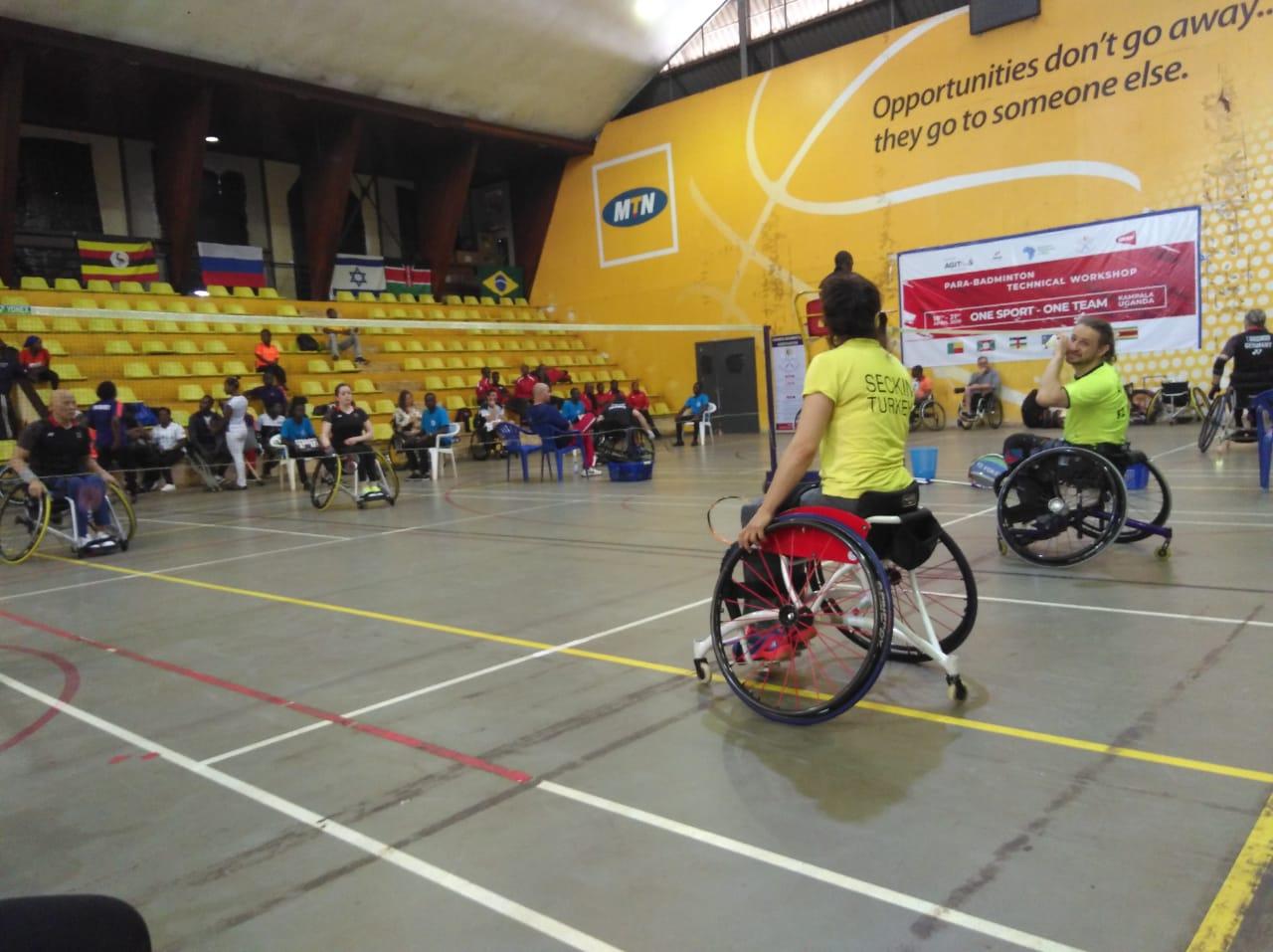 1 золотую и 4 бронзовые медали завоевали российские спортсмены на международных соревнованиях по парабадминтону  - Uganda Para-Badminton International 2019