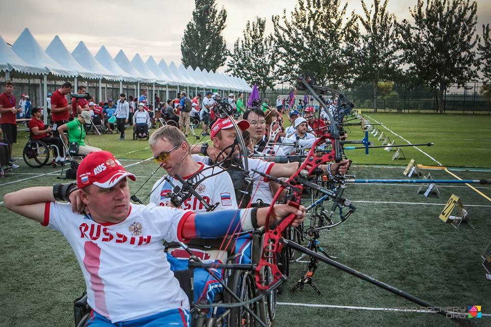 Антон Зяпаев и Константин Донской завоевали бронзовые медали на чемпионате мира по стрельбе из лука спорта лиц с ПОДА в Китае