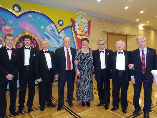 Представители ПКР приняли участие  в  торжественном приеме  в честь  Нового года в Кремле с участием Президента России Дмитрия Медведева