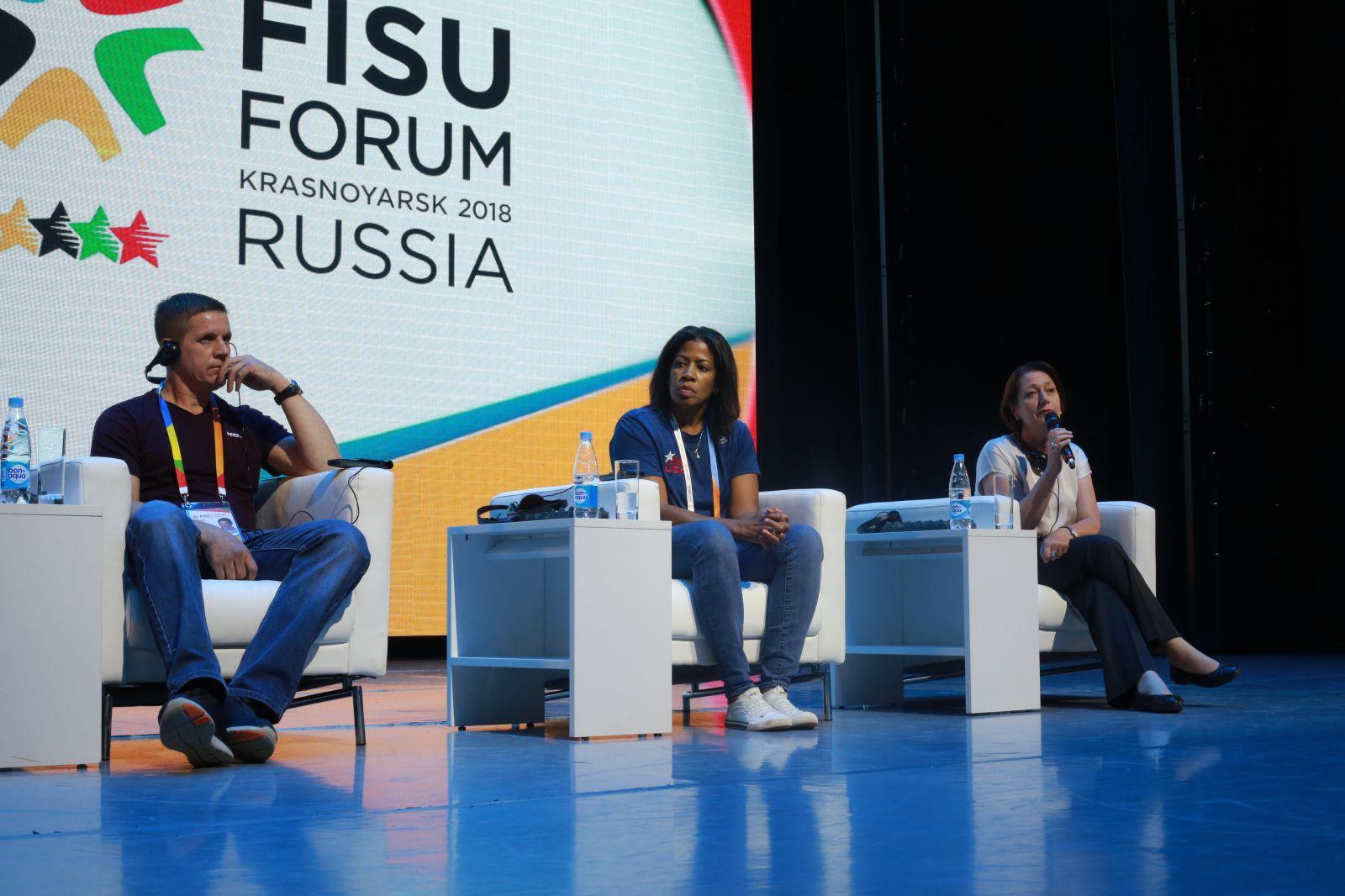 Участники Форума Международной федерации студенческого спорта обсудили спорт лиц с ограниченными возможностями здоровья