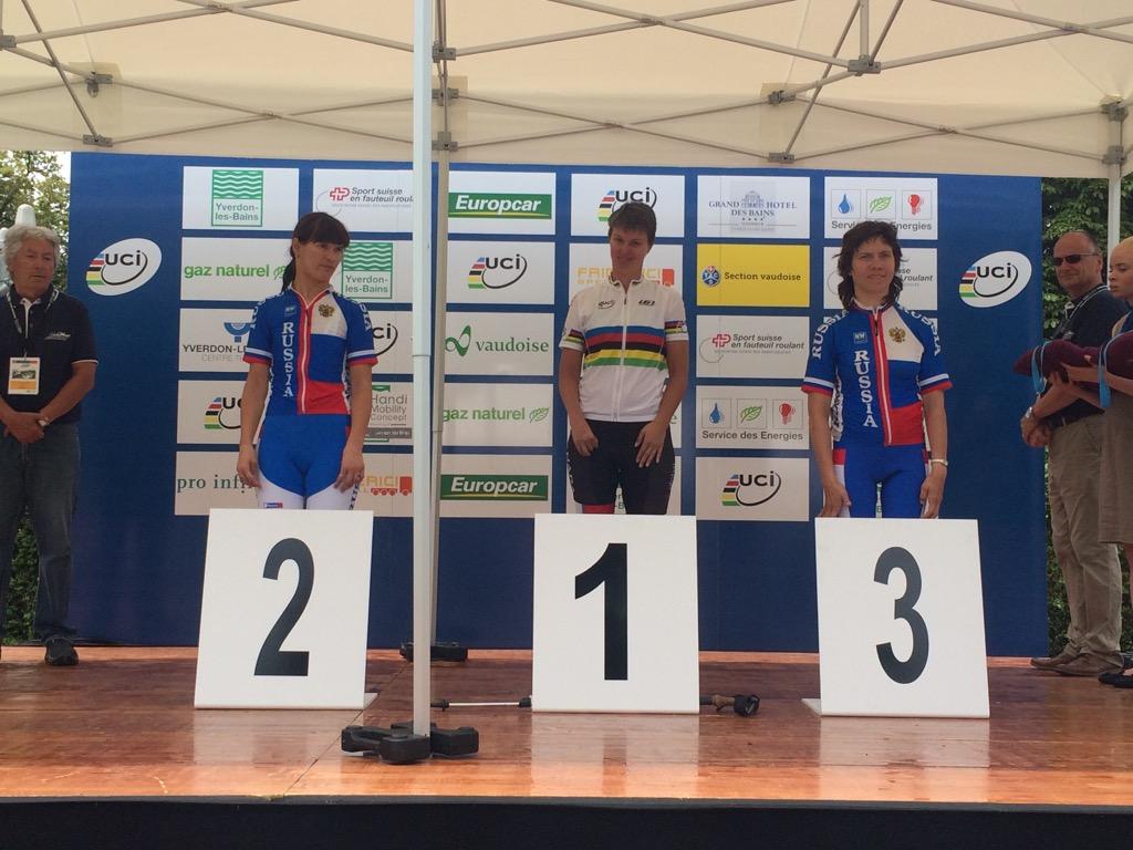 Российские спортсмены стали обладателями десяти наград на IV этапе Кубке мира по велоспорту в Швейцарии
