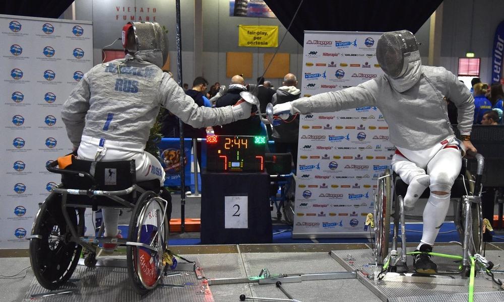 Российские спортсмены завоевали 1 золотую, 2 серебряные и 3 бронзовые медали на Кубке мира по фехтованию на колясках