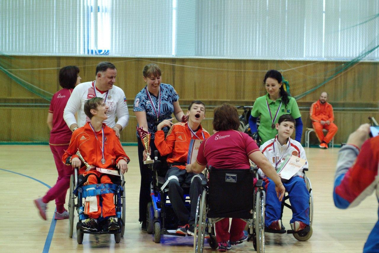 Спортсмены сборной Москвы завоевали пять медалей в первенстве России по бочча в Алексине