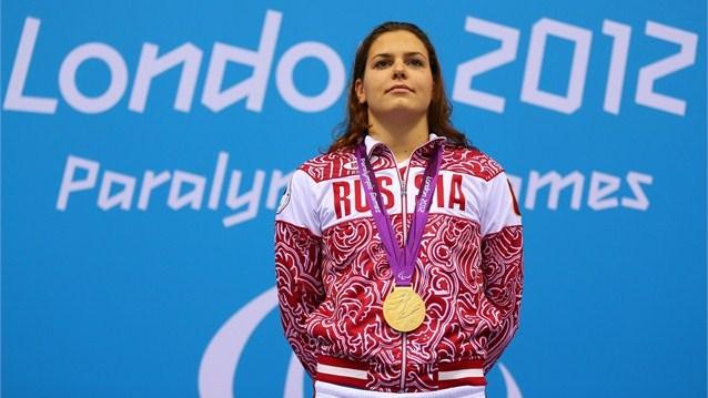 Сборная команда России на Паралимпийских играх в Лондоне поднялась на второе место в общем зачете