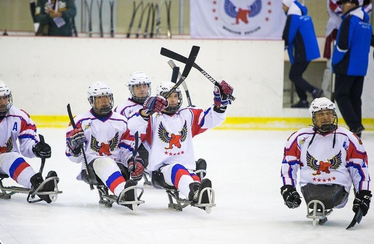 Подмосковная команда «Феникс» стала победителем 1 круга чемпионата России по следж-хоккею