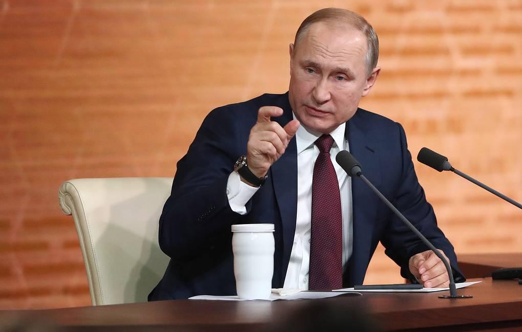 ТАСС: Путин считает решение WADA несправедливым, не соответствующим здравому смыслу и праву