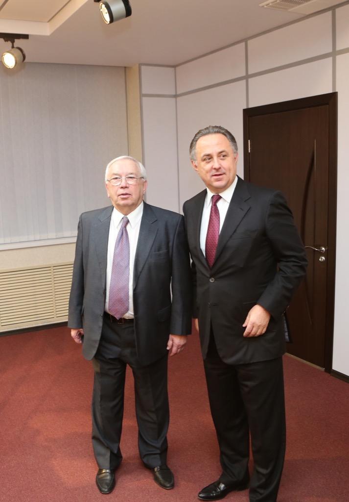 В.Л. Мутко и В.П. Лукин в Международный день инвалидов вручили государственные и ведомственные награды РФ