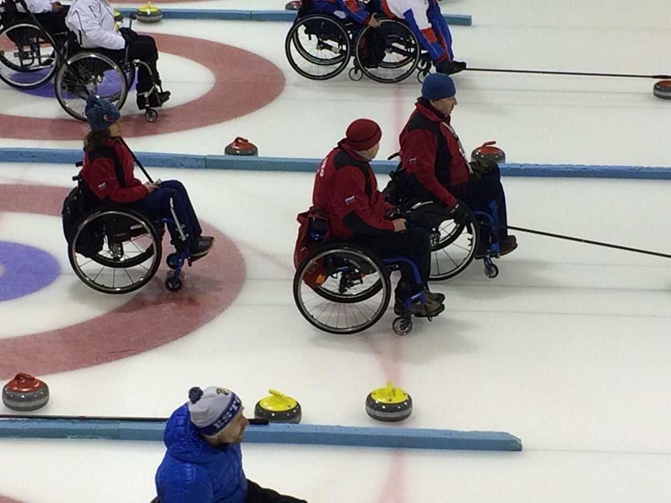 Российские спортсмены остались без наград крупного международного турнира по кёрлингу на колясках «IV Kisakallio Open 2019»