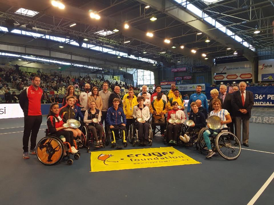 Представитель Московской области Сергей Лысов принял участие в первенстве мира по теннису на колясках во Франции