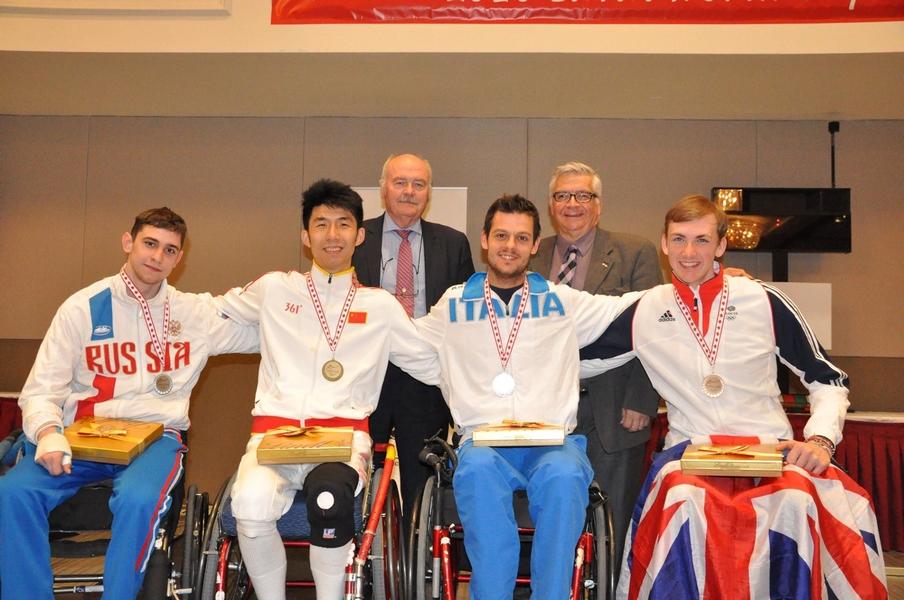 Сборная России по фехтованию на колясках на чемпионате Европы в Италии выиграла 10 золотых медалей из 22