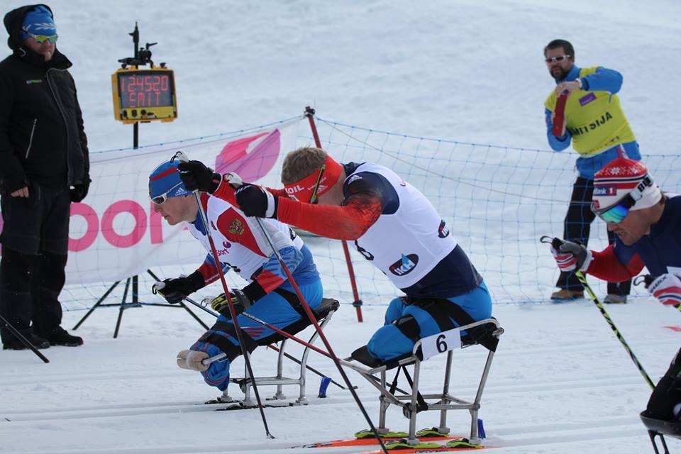 Российские лыжники одержали три победы на старте Кубка мира IPC в Вуокатти