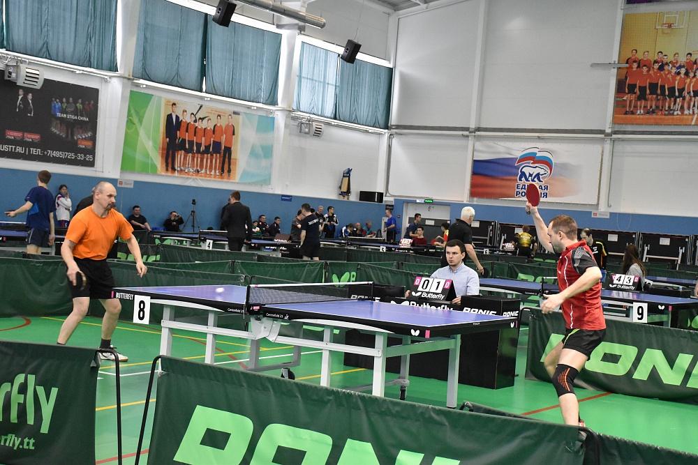 В Чувашии определены сильнейшие спортсмены России по настольному теннису спорта лиц с ПОДА, выступающие стоя