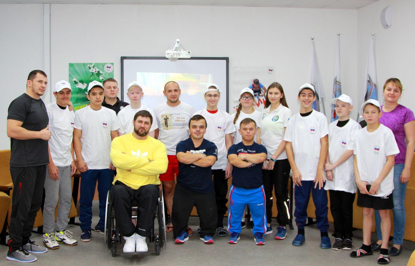 В Югре стартовали спортивно-образовательные проекты Паралимпийского комитета России «Будущие чемпионы» и «Паралимпийский урок»