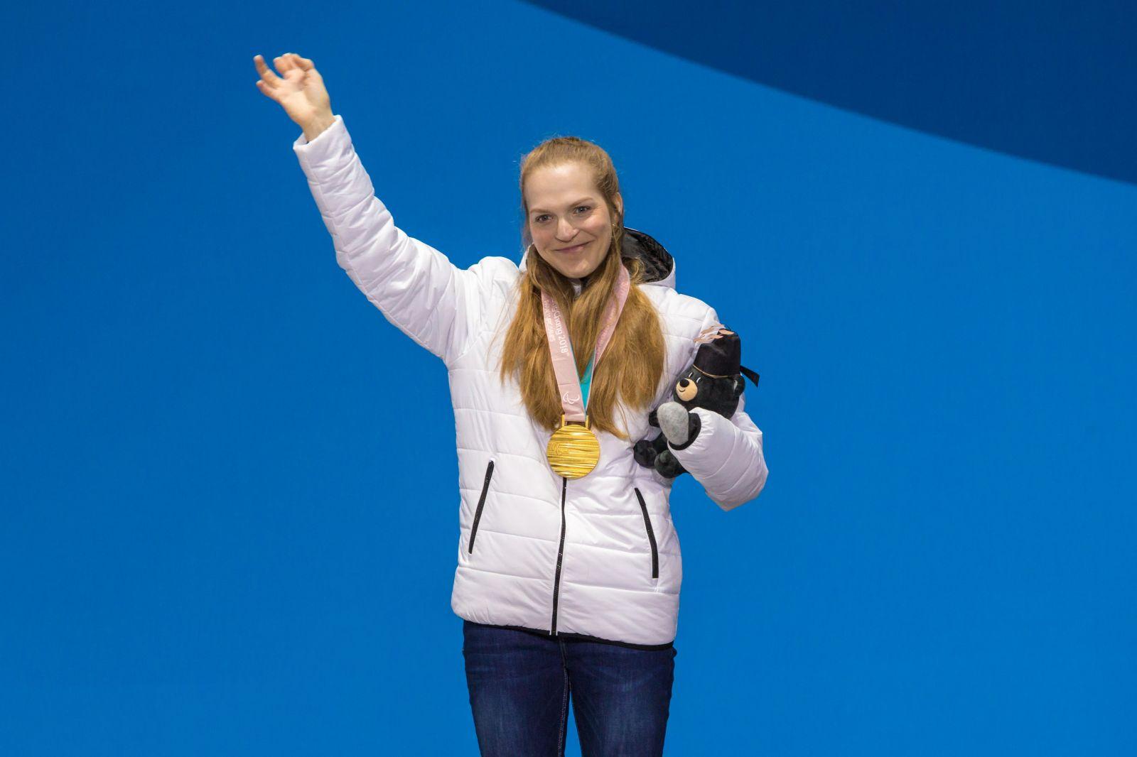 Екатерина Румянцева признана лучшей спортсменкой по итогам XII Паралимпийских зимних игр 2018 года в г. Пхенчхан (Республика Корея) по версии Международного паралимпийского комитета
