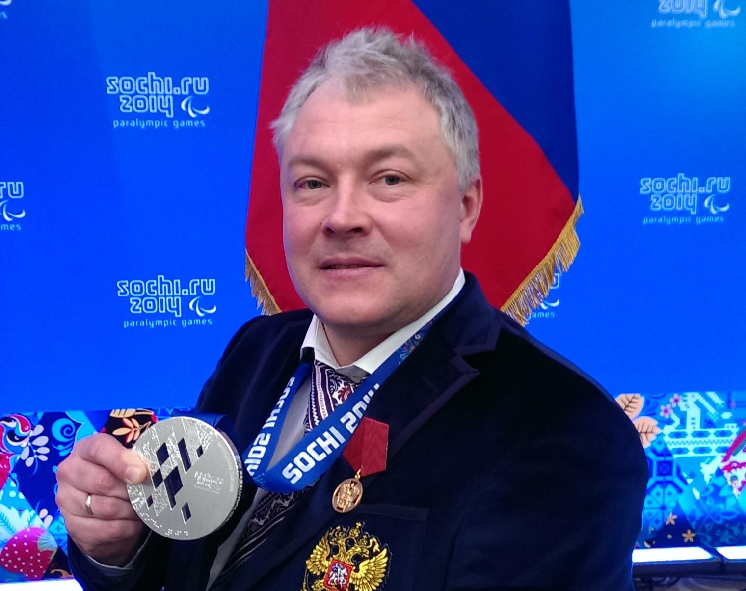 Послы паралимпийского спорта. Александр Шевченко