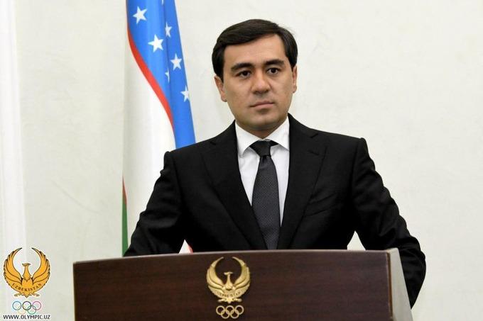 Поздравление президента ПКР В.П. Лукина М. Ташходжаеву в связи с избранием на должность Председателя Национальной паралимпийской ассоциации Узбекистана