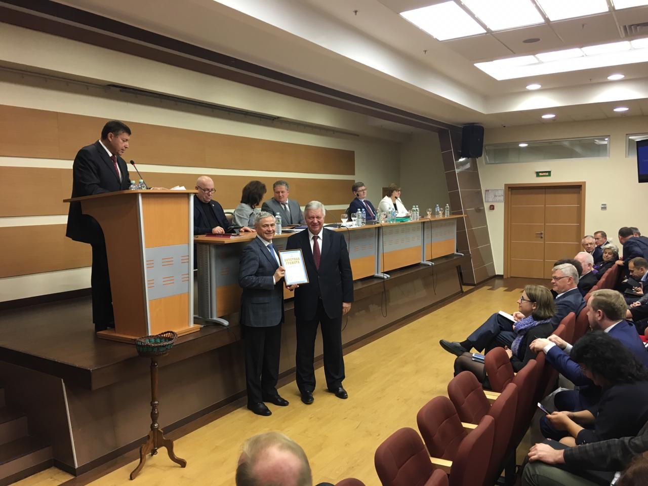 П.А. Рожков принял участие в заседании Генсовета ФНПР под председательством М.В. Шмакова