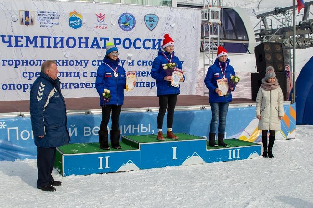 Алексей Бугаев и Варвара Ворончихина завоевали по 3 золотые медали на чемпионате России по горнолыжному спорту лиц с ПОДА на Сахалине