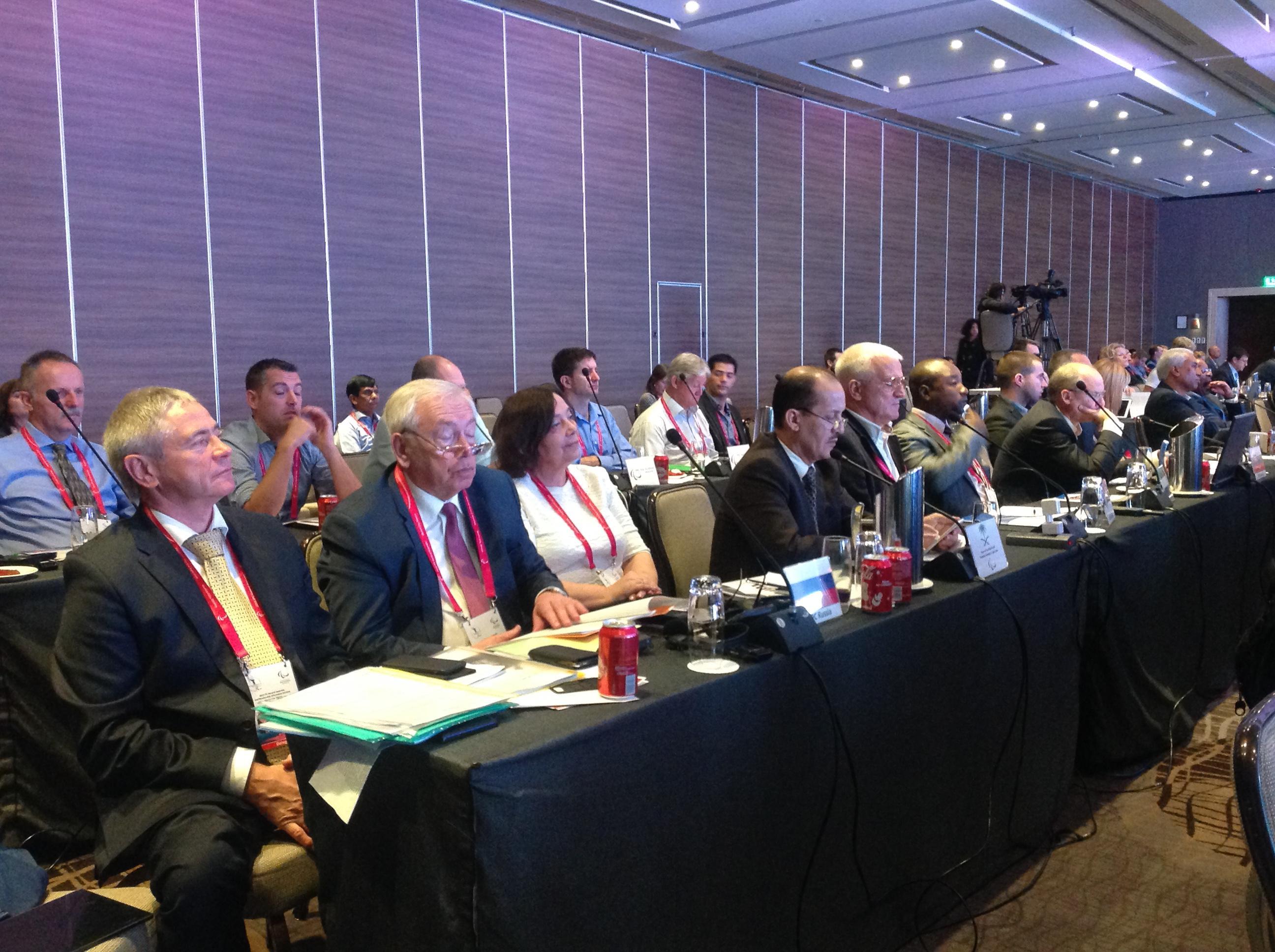 В.П. Лукин и П.А. Рожков в г. Мехико (Мексика) приняли участие в заседании Генеральной Ассамблеи Международного паралимпийского комитета