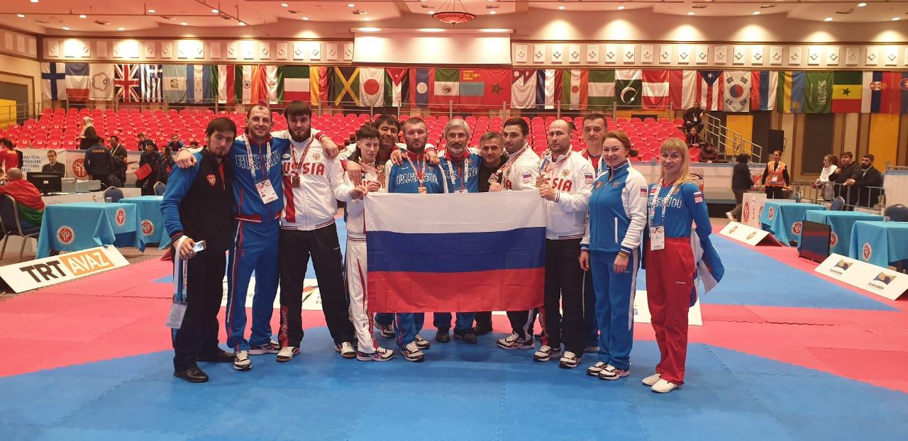 Сборная команда России по паратхэквондо завоевала 1 золотую, 2 серебряные и 3 бронзовые медали в первый день чемпионата мира в Турции
