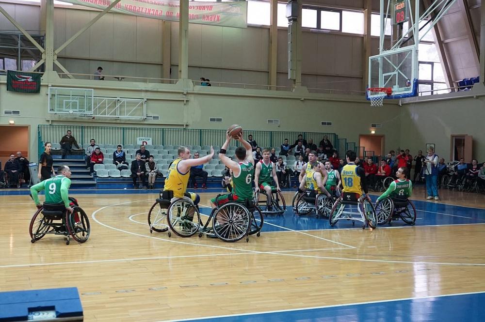 В Алексине на РУТБ «Ока» состоится 2 круг чемпионата России по баскетболу на колясках