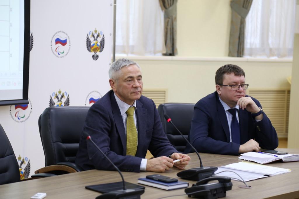 П.А. Рожков в офисе ПКР провел рабочее совещание по организации в 2021 году на территории России чемпионата мира по фехтованию на колясках и Всемирных игр IWAS