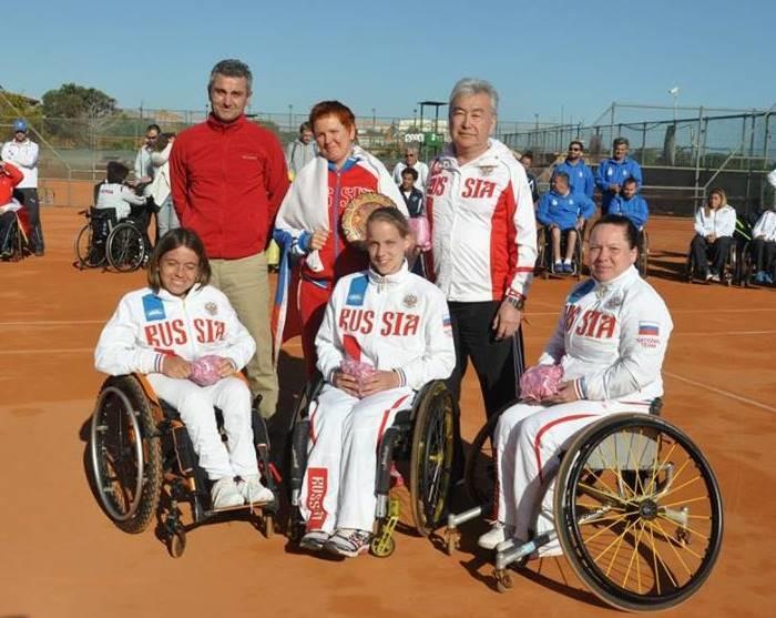 Женская сборная России завоевала золотые медали на чемпионате Европы по теннису на колясках!