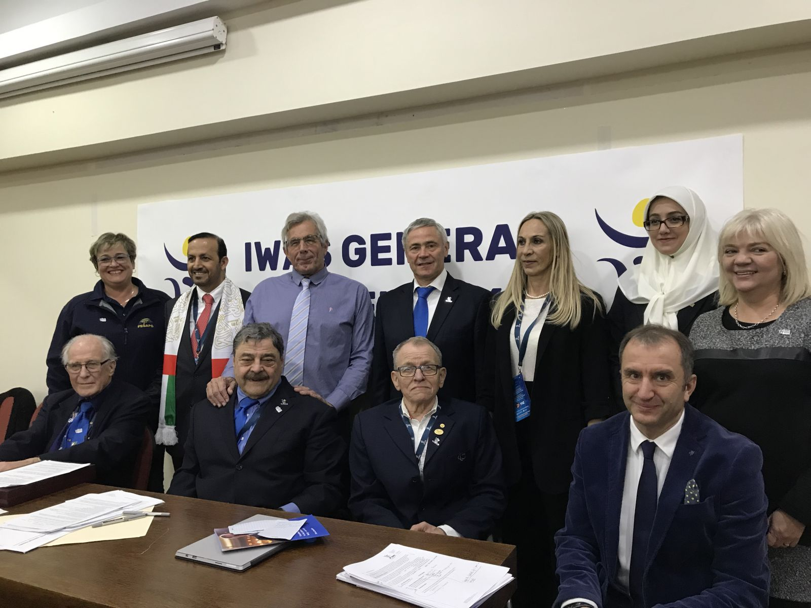П.А. Рожков избран вице-президентом Международной спортивной федерации колясочников и ампутантов (IWAS)