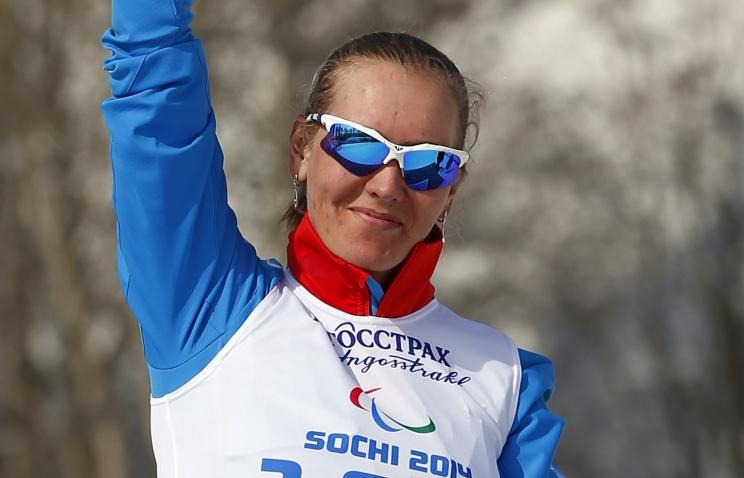 Россиянка А. Миленина завоевала бронзовую медаль в  соревнованиях по лыжным гонкам на 15 км