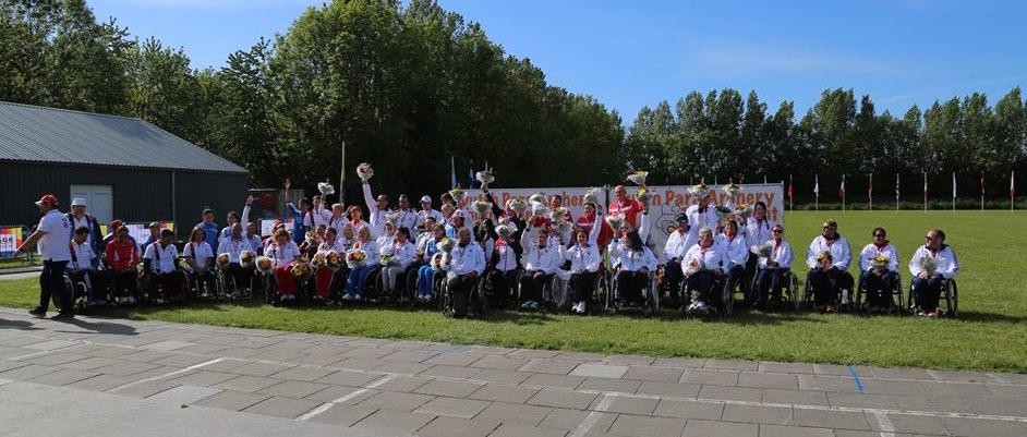 Российские стрелки из лука спорта лиц с ПОДА завоевали 3 золотых, 5 серебряных и 2 бронзовых медалей на международном турнире в Нидерландах