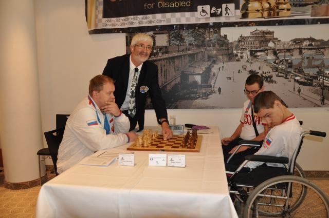 Российские шахматисты ведут борьбу за награды чемпионата мира лиц с ПОДА