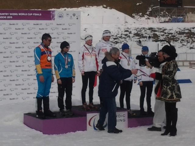 П. А. Рожков посетил  соревнования финального этапа Кубка мира  по  лыжным гонкам  и биатлону  среди спортсменов с поражением опорно-двигательного аппарата и нарушением зрения,  поздравил победителей  и призеров соревновательного дня, встретился с командо
