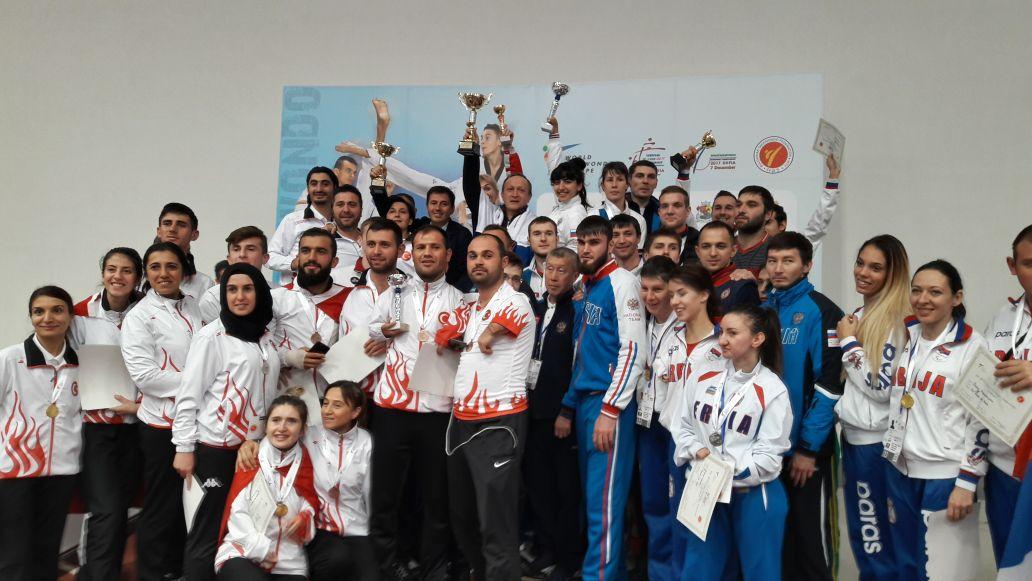 Сборная команда России по паратхэквондо выиграла общекомандный зачет чемпионата Европы в Болгарии