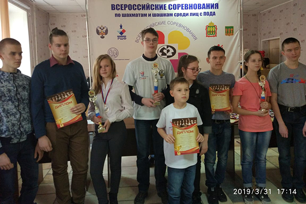 В Пензе завершились Всероссийские соревнования среди детей с поражением опорно-двигательного аппарата «Аленький цветочек»