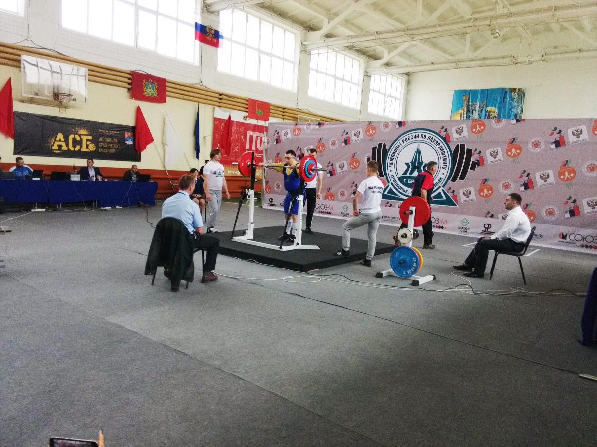 В Тамбове состоится чемпионат России по пауэрлифтингу спорта слепых