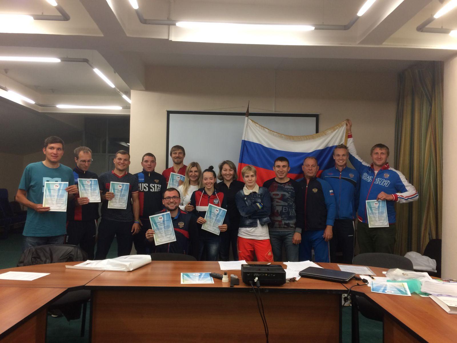 ПКР в Санкт-Петербурге на базе центра велоспорта «Локосфинкс» провел Антидопинговый семинар для членов сборной команды России по велоспорту среди лиц с ПОДА