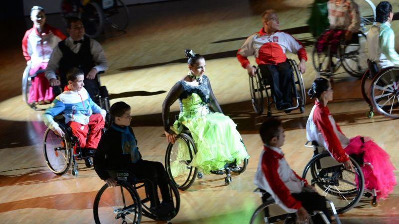 Тюмень впервые стала местом проведения Кубка России по танцам на колясках