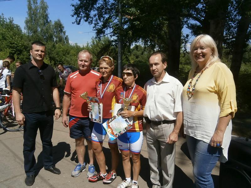 Спортсмены из Тамбовской области и города Москвы стали победителями Кубка России по велоспорту-тандем на шоссе